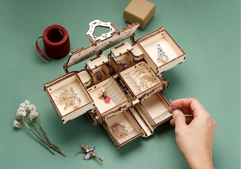 Cutia antica de bijuterii -- adapost pentru bijuterii image