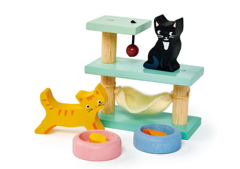 Set figurine pisici -- 2 figurine feline image