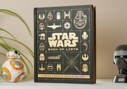Star Wars book of lists -- may the LIST be with you