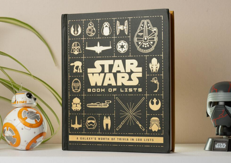 Star Wars book of lists -- may the LIST be with you image
