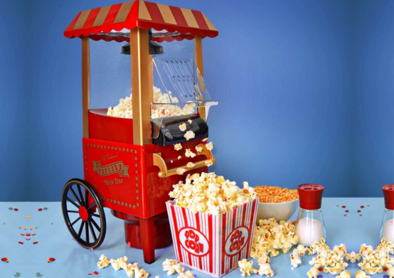 Aparat Popcorn -- Distractiv si sanatos! image