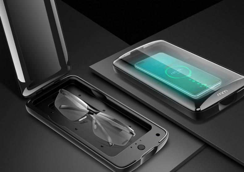 Sterilizator UV Charger -- smart si safe la un loc image