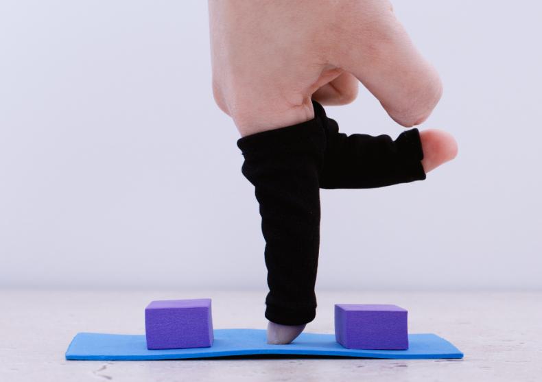 Finger yoga -- NAMASTE, flexeaza degetele image