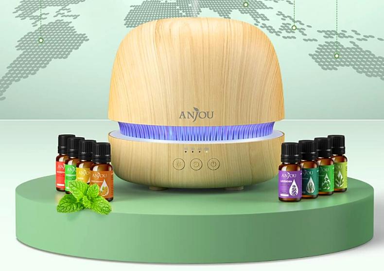 Difuzor aroma Woodscent -- set cu 8 uleiuri esentiale image