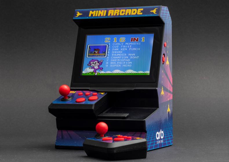 Consola Arcade 2 player -- ca in anii '80 image