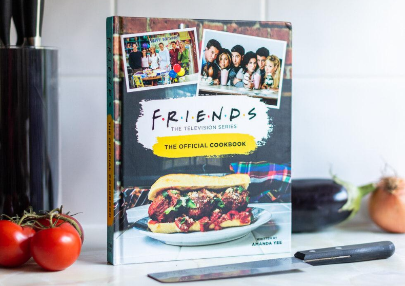 Carte Friends: Retete originale -- 100 de retete faimoase image