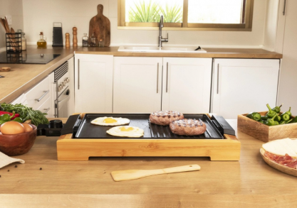 Gratar electric bamboo -- grill de interior