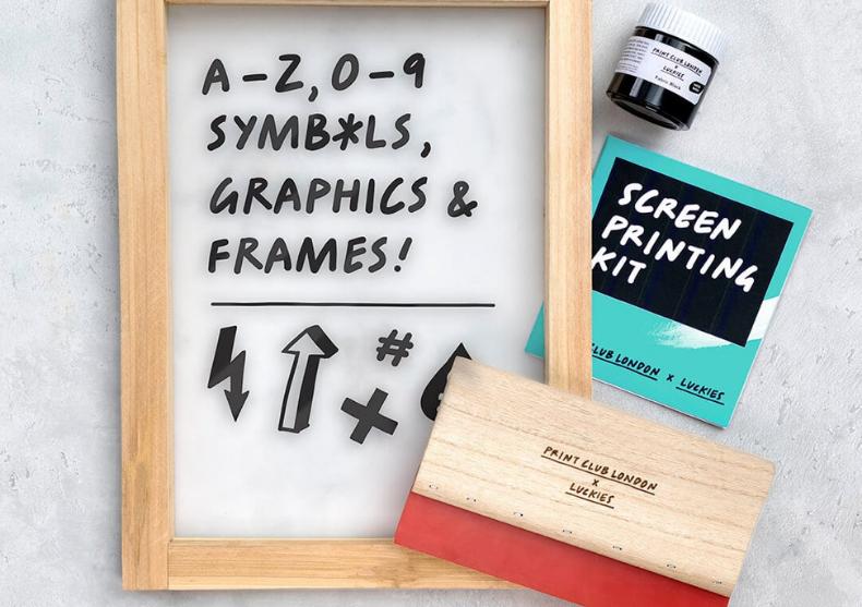 Screen printing kit -- Kit de personalizare image