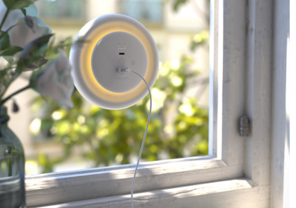 Incarcator solar Light Disc -- incarcare smart & lampa de veghe