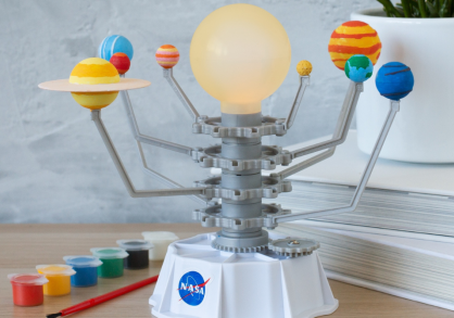 Kit sistem solar NASA -- joc educativ