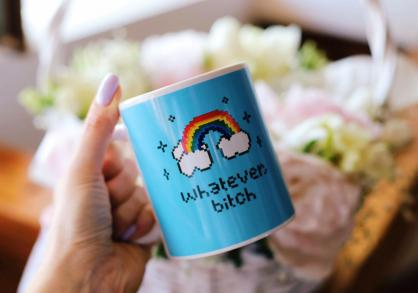 Whatever b*tch mug -- mai lasa-ma...