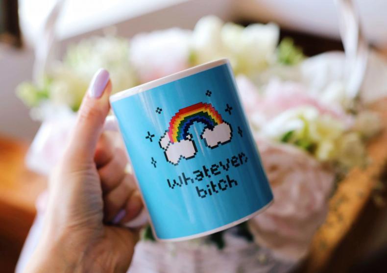 Whatever b*tch mug -- mai lasa-ma... image