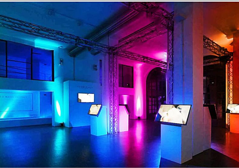Set proiectoare podea -- lumini RGB outdoor  image