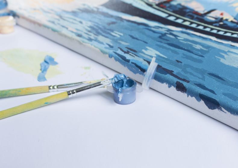 Peisaje celebre -- Vincent van Gogh si Claude Monet image
