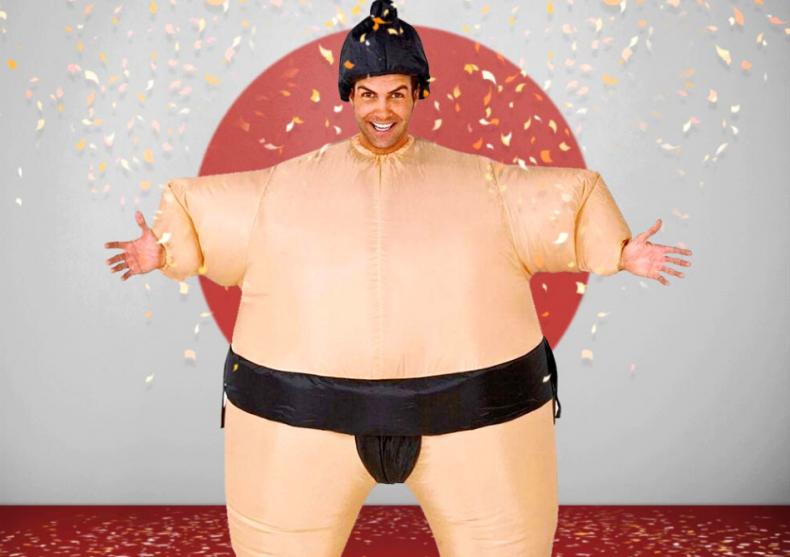 Costum sumo -- Iute ca vantul. NOT! image