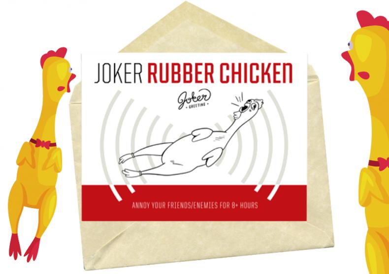 Rubber Chicken -- puiul din cauciuc image