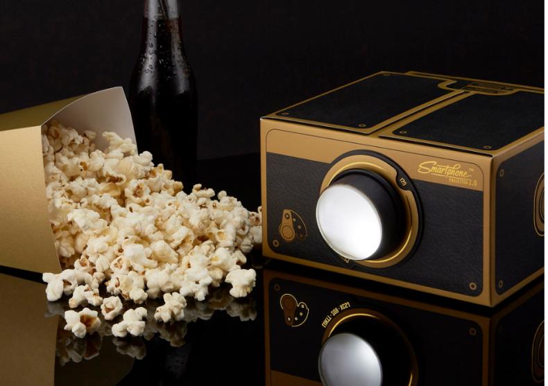 Proiector Smartphone Deluxe 2.0 -- Pregateste popcornul gourmet image