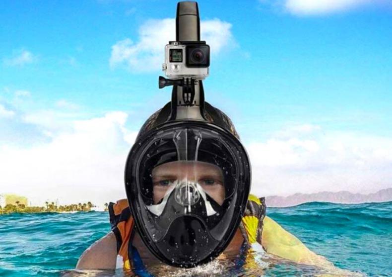Snorkel face mask -- noua, gadgetizata image