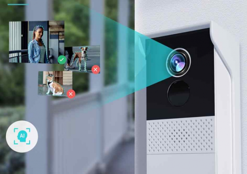 Interfon Smart cu camera -- securitatea din fata usii image
