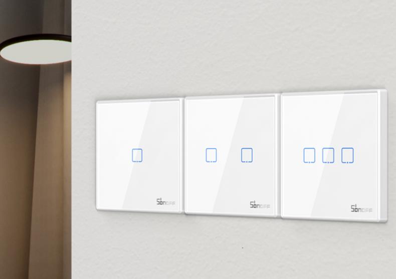 Intrerupator Smart white -- control smartphone image