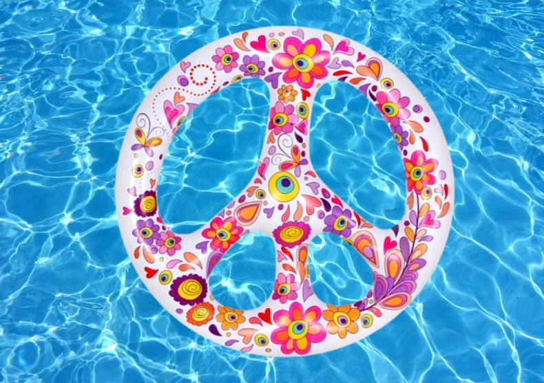Peace pool float -- faceti valuri, nu razboaie image
