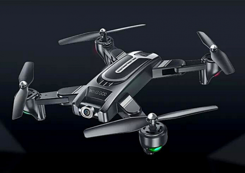 Drona Visuo XS817-- Camera 2Mp cu transmisie pe telefon image
